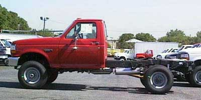 1997 Ford F-Super Duty Chassis Cab