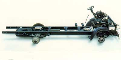 1998 GMC P Forward Control Chassis