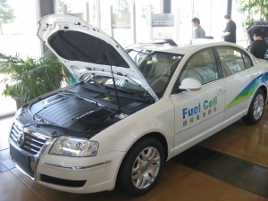 Volkswagen Hydrogen Fuel Cell Vehicle