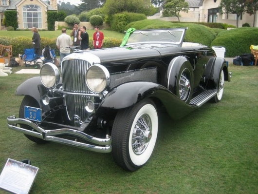 1936 Deusenberg JN Rollston Convertible Coupe