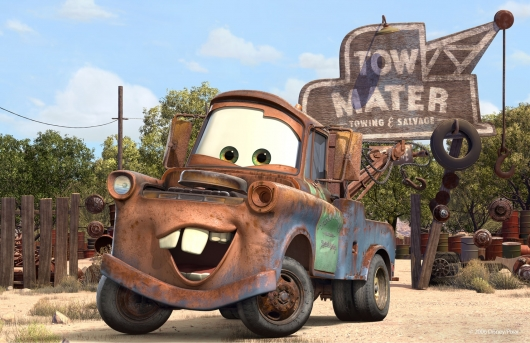 Mater from Pixar's Cars